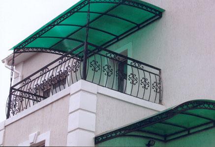 Кованые балконные ограждения - художественная ковка - стройт.